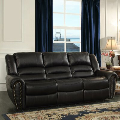 Center Hill Double Reclining Sofa by Woodhaven Hill