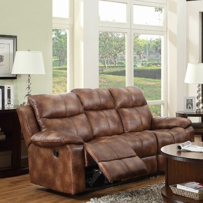 Brooklyn Heights Double Reclining Sofa by Woodhaven Hill