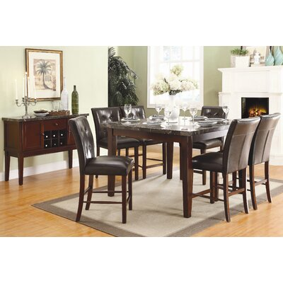 Woodhaven Hill Decatur 7 Piece Dining Set