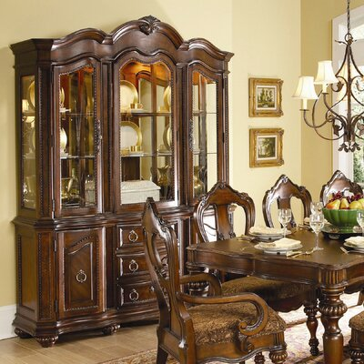 1390 Series China Cabinet by Woodhaven Hill
