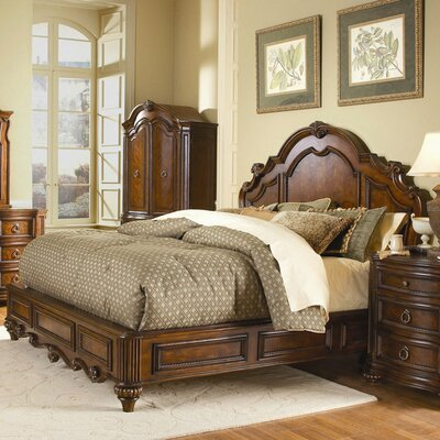 1390 Series Panel Bed by Woodhaven Hill