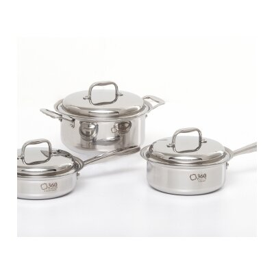 3 Piece Cookware Set by 360 Cookware