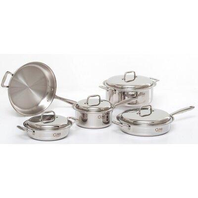 360 Cookware 9 Piece Cookware Set
