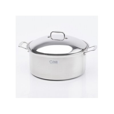 Stock Pot with Lid by 360 Cookware