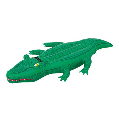 Crocodile Inflatable Ride-On Pool Toy by Splash and Play