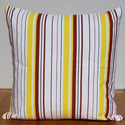 Printed Cotton Throw Pillow by Auburn Textile