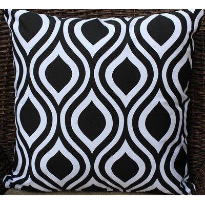 Modern Print Cotton Throw Pillow by Auburn Textile