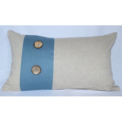 Panels Cotton Lumbar Pillow by Auburn Textile