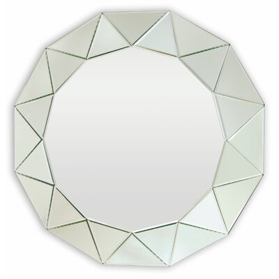 San Marino Circular Mirror by Selections by Chaumont