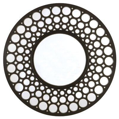 Pinhole Design Circular Mirror by Selections by Chaumont