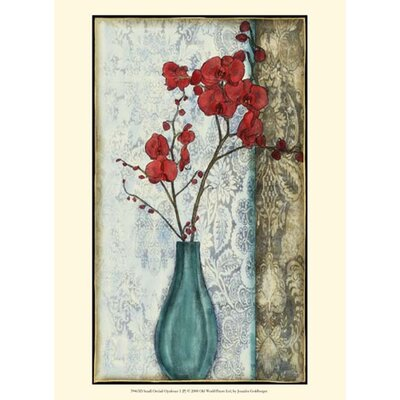 Small Orchid Opulence I (P) Wall Art (Print Only) by Evive Designs