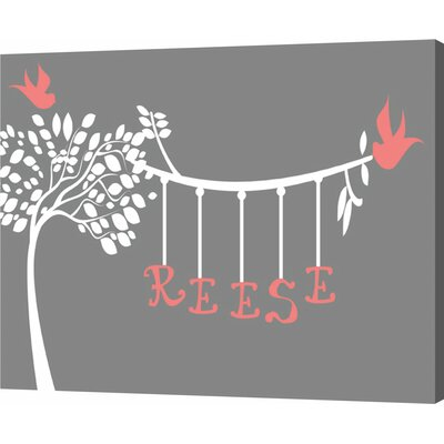 Customize your Name Tree by Ashley Calhoun Graphic Art on Wrapped Canvas by Evive Designs ...