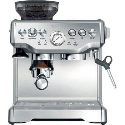 Breville The Barista Express Programmable Espresso Machine & Reviews Wayfair