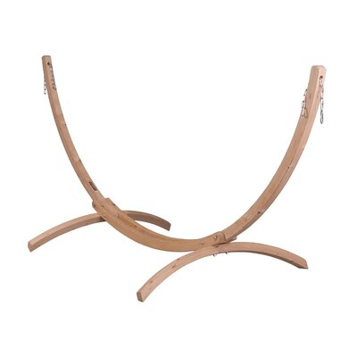 CANOA Wood Stand for Single Hammocks by La Siesta