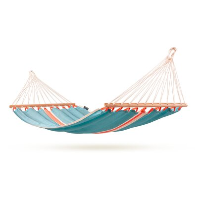 FRUTA Weatherpoof Single Spreader Bar Hammock by La Siesta