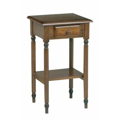 Knob Hill Multi-Tiered Telephone Table by OSP Designs