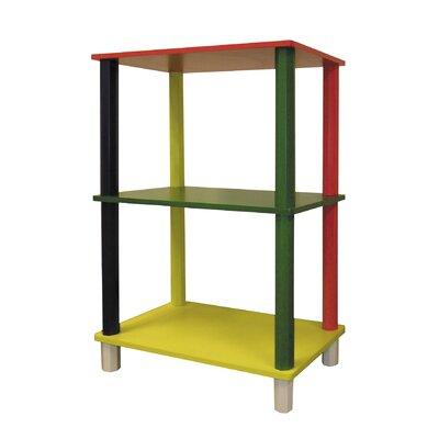 """ORE Furniture Kid's 3 Tier Rectangle 28.5"""" Bookcase"""