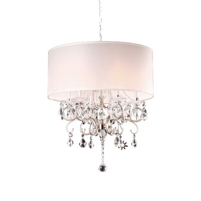 Crystal 6 Light Chandelier Product Photo
