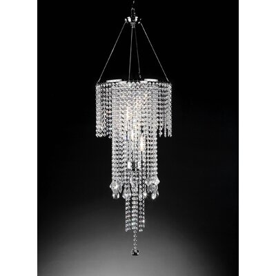 Rain 5 Light Ceiling Lamp by ORE Furniture