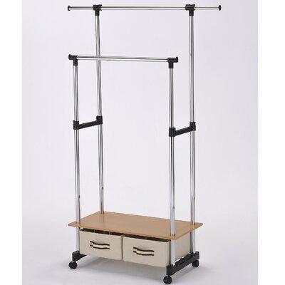 ORE Furniture Double Lever Coat Rack