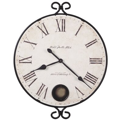 """Howard Miller® Moment In Time Oversized 26.25"""" Magdalen Gallery Wall Clock"""