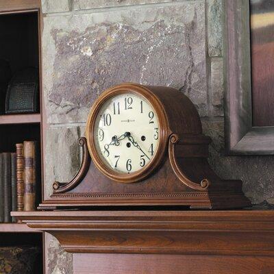 Hadley Key Wound Mantel Clock by Howard Miller