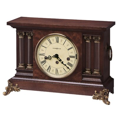 Circa Key Wound Chiming Mantel Clock by Howard Miller