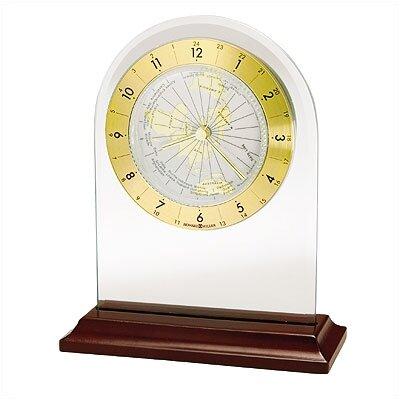 Howard Miller® World Time Arch  Quartz Table Clock
