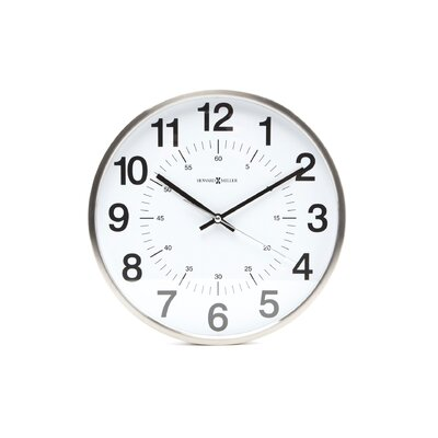 "Howard Miller® Home or Office Easton 12"" Wall Clock"