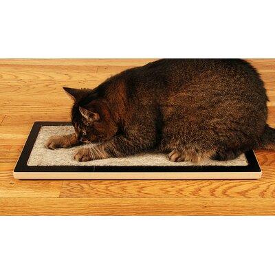 Square Cat Habitat Lo Floor Wood Scratching Board