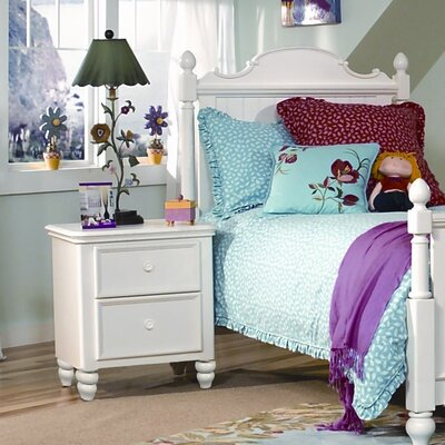 LC Kids Summer Breeze 2 Drawer Nightstand 481 3100C