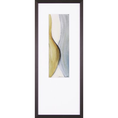 Art Effects Coalescence Panel II by Lanie Loreth Framed Painting Print