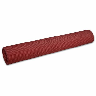 """Body Solid 0.2"""" Yoga Mat in Red"""