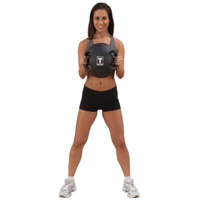 Body Solid 20 lbs Dual Grip Medicine Balls in Black