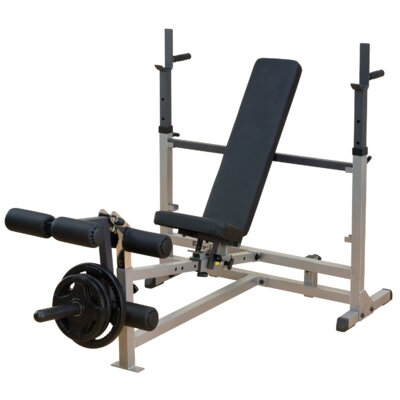 Power Center Combo Adjustable Olympic Bench by Body Solid