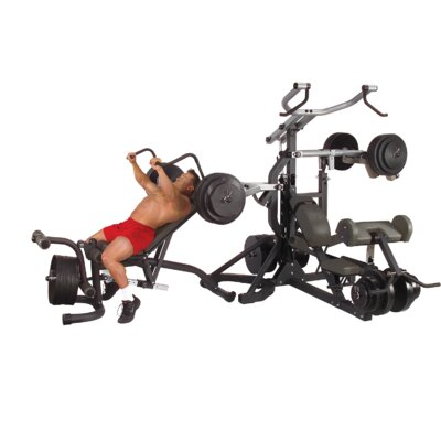 Body Solid Leverage Freeweight Home Gym Set
