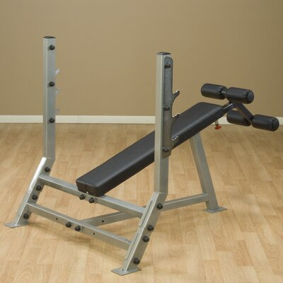 Pro Club Decline Olympic Bench by Body Solid