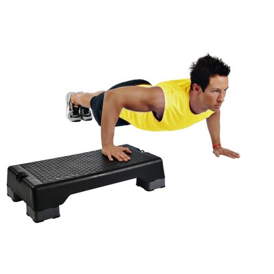 Stamina Aerobic Stepper with DVD
