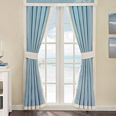 Harbor House Coastline Cotton Rod Pocket Curtain Panel