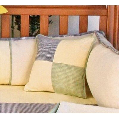 Bee My Baby Patch Decorator Throw Pillow by Brandee Danielle