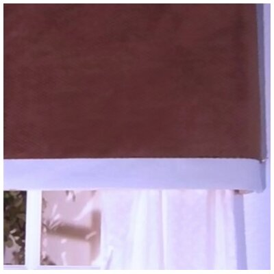 "Brandee Danielle Blue Chocolate 53"" Curtain Valance"