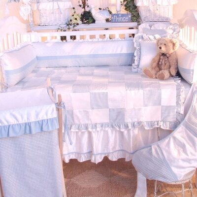 Prince Blue Deluxe 4 Piece Crib Bedding Set by Brandee Danielle