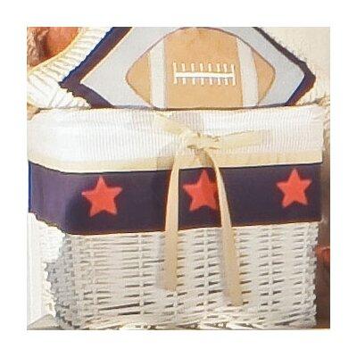 All Star Wicker Basket by Brandee Danielle