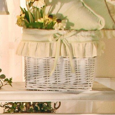 Little One Wicker Basket by Brandee Danielle