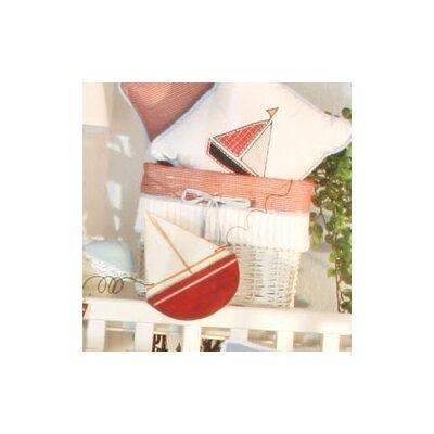 Sail Away Wicker Basket by Brandee Danielle