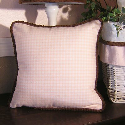 Brandee Danielle Gingham Throw Pillow