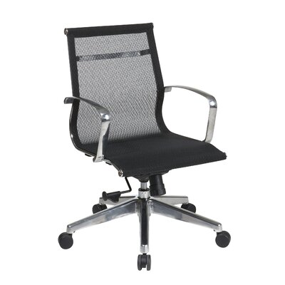 Mid Back Mesh Conference Office Chair by OSP Furniture