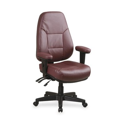 High Back Leather Chair by OSP Furniture