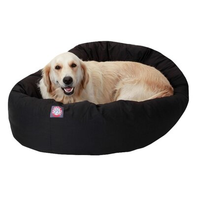 Bagel Donut Pillow Pet Bed by Majestic Pet