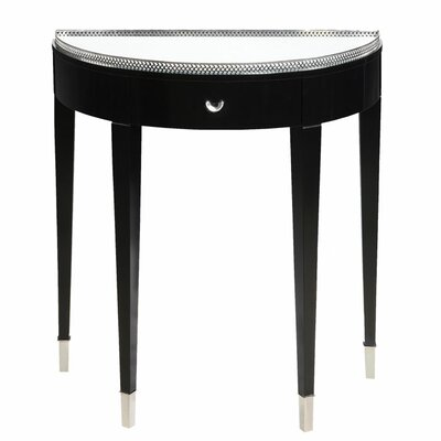 Tuxedo Demilune Console Table by Bailey Street